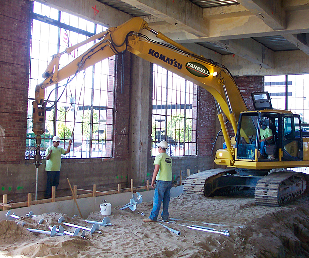 Micro Piles & Helical Piles - Design-Build Pile, Drill
