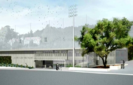 Maxwell Field Parking Structure and Practice Field