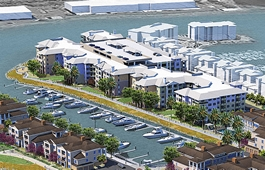 Blu Harbor Parking Structure and Apartments